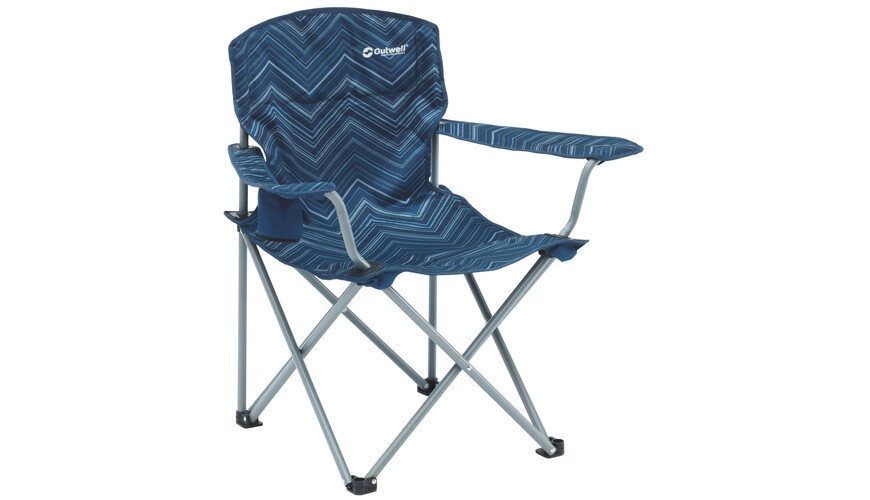 Outwell Woodland Hills Campingstol blå